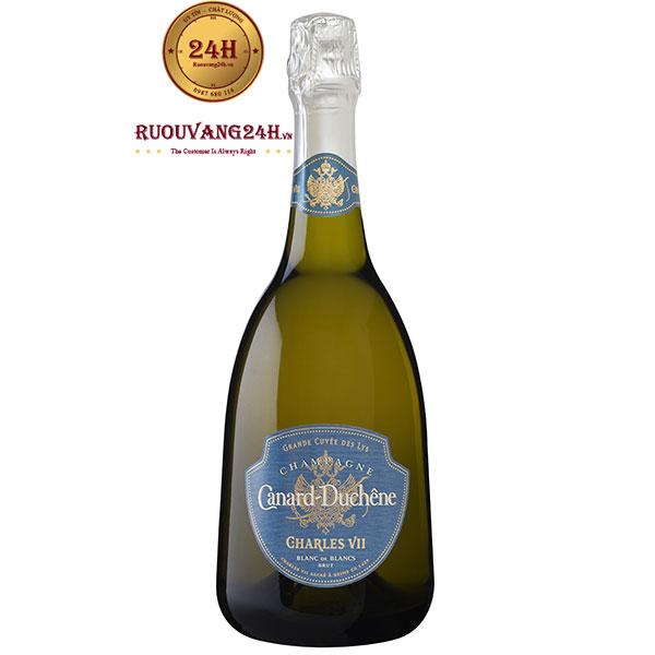 Rượu Champagne Canard Duchene Charles VII Blanc