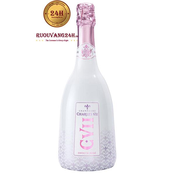 Rượu Champagne Canard Duchene Charles VII Smooth Rose