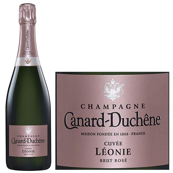 Rượu Champagne Canard Duchene Cuvee Leonie Brut Rose