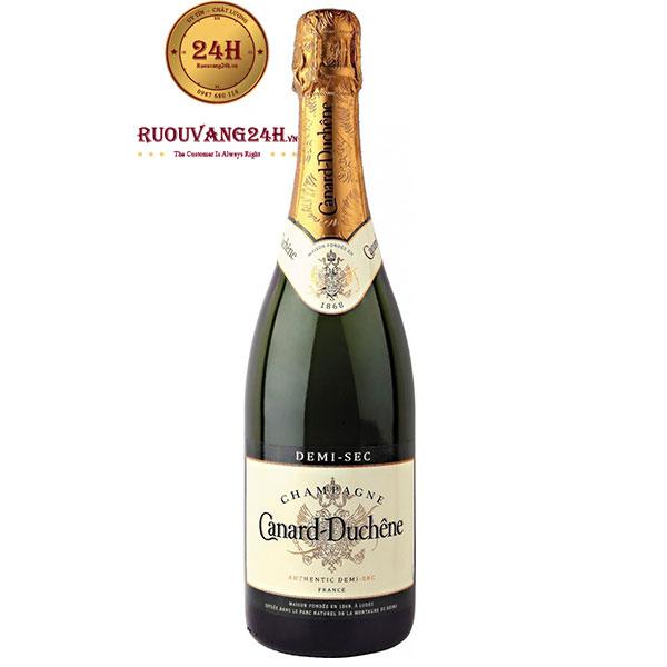 Rượu Champagne Canard Duchene Demi Sec