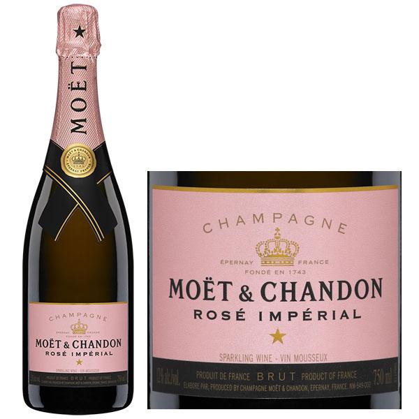 Rượu Champagne Moet & Chandon Rose Imperial