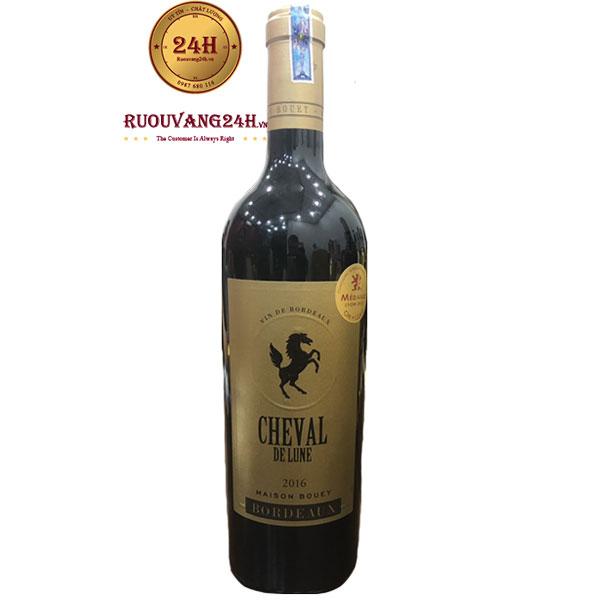 Rượu Vang Cheval De Lune Maison Bouey Bordeaux