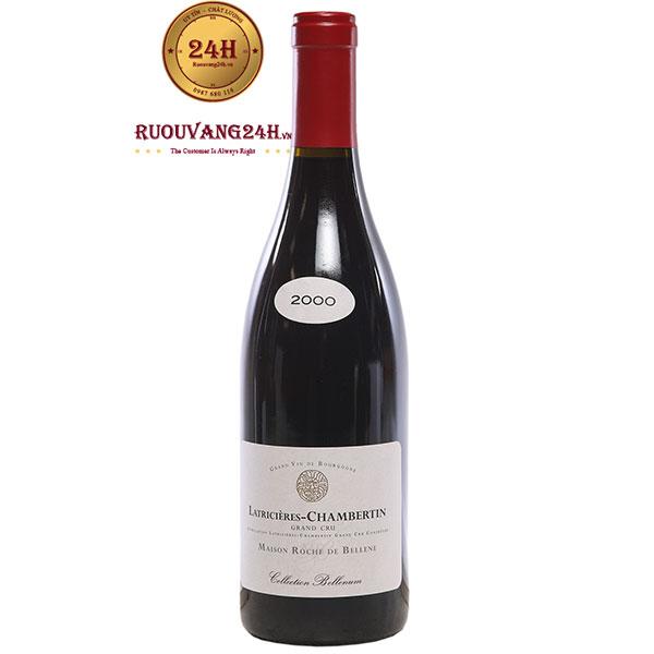 Rượu Vang Latricieres Chambertin MaiSon Roche De Bellene