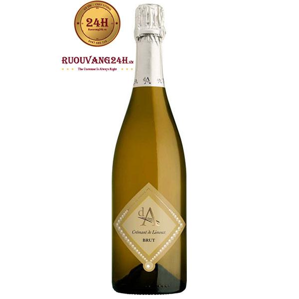 Rượu Vang Nổ Da Cremant De Limoux Brut Blanc