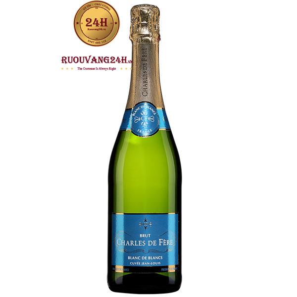 Rượu Champagne Charles De Fère Cuvée Jean Louis Blanc De Blancs