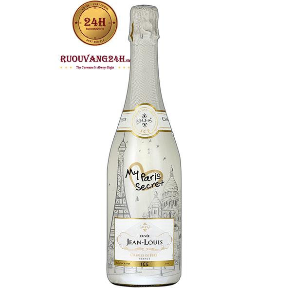 Rượu Champagne Cuvée Jean Louis My Paris Secret ICE Blanc