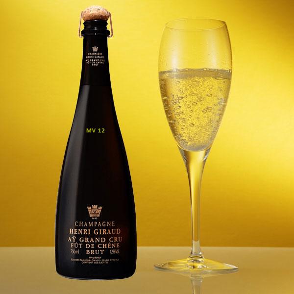 Rượu Champagne Henri Giraud Aÿ Grand Cru Brut MV 12
