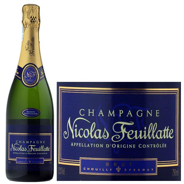 Rượu Champagne Nicolas Feuillatte Brut Particulière