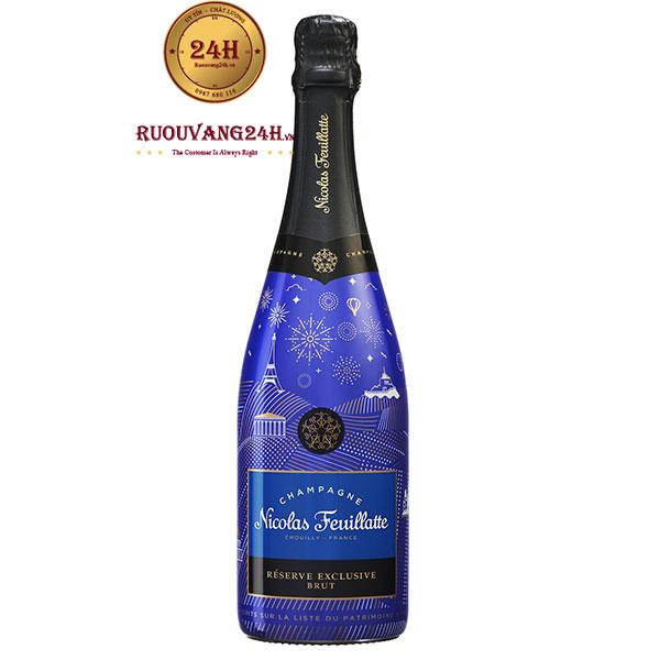 Rượu Champagne Nicolas Feuillatte Reserve Exclusive Brut