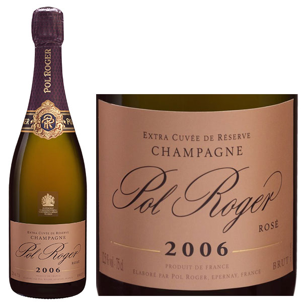 Rượu Champagne Pol Roger Rose