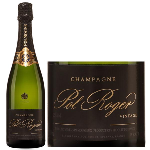Rượu Champagne Pol Roger Vintage