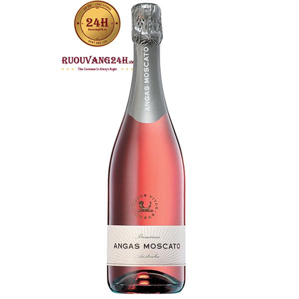 Rượu Sâm Banh Angas Brut Moscato Rosé