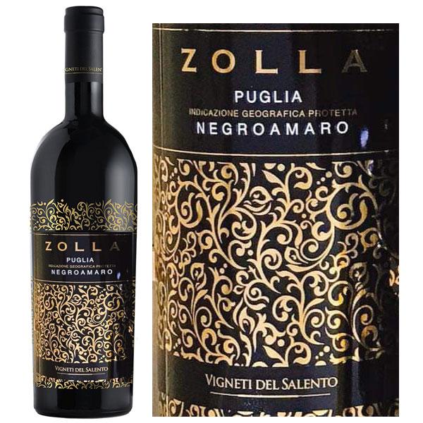 Rượu Vang Ý Zolla Puglia Negroamaro
