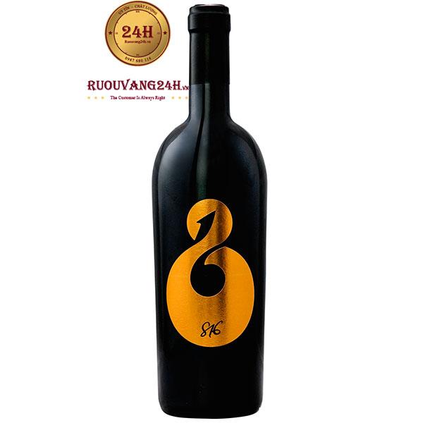Rượu Vang 816 Primitivo Di Manduria