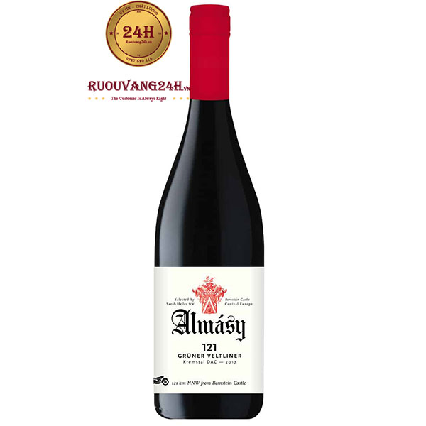 Rượu Vang Almásy 121 Grüner Veltliner