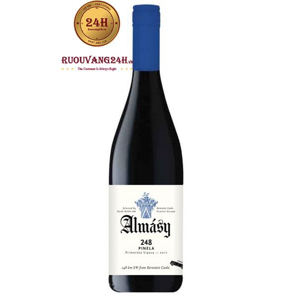 Rượu Vang Almásy 248 Pinela Slovenia