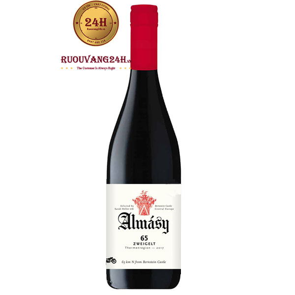 Rượu Vang Almásy 65 Zweigelt