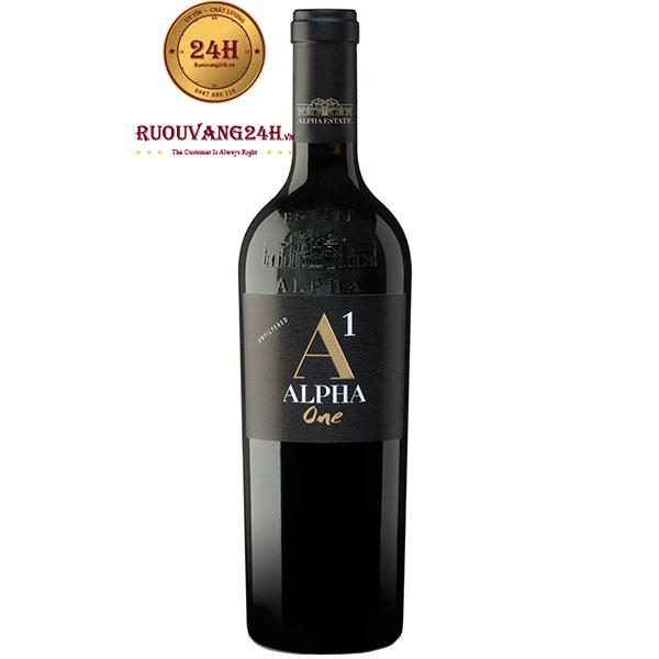Rượu Vang Alpha Estate Alpha One