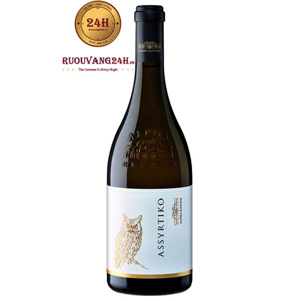 Rượu Vang Alpha Estate Ecosystem Assyrtiko