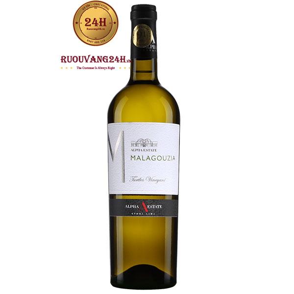 Rượu Vang Alpha Estate Malagouzia White