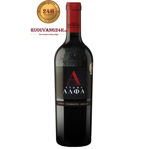 Rượu Vang Alpha Estate SMX