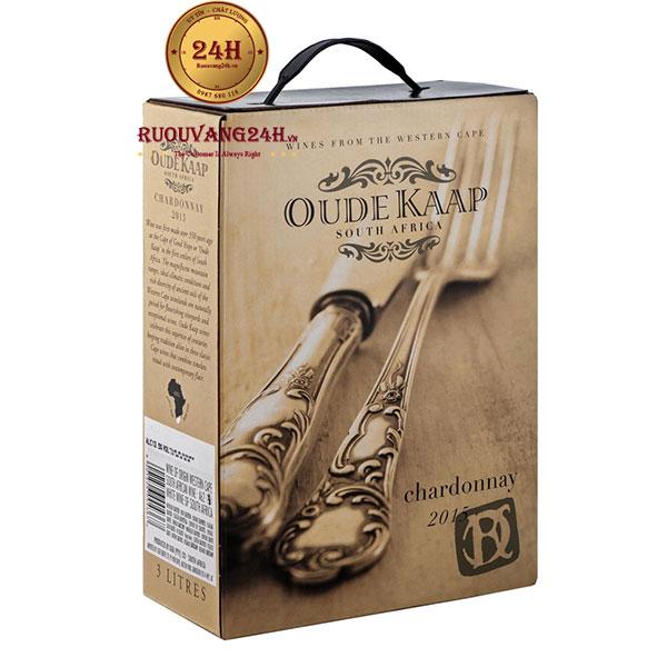 Rượu Vang Bịch Oude Kaap Chardonnay