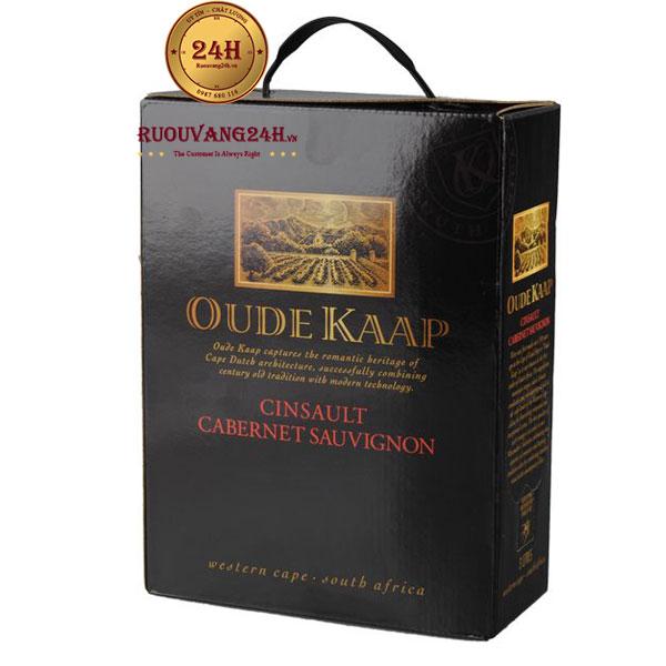 Rượu Vang Bịch Oude Kaap Cinsault Cabernet Sauvignon