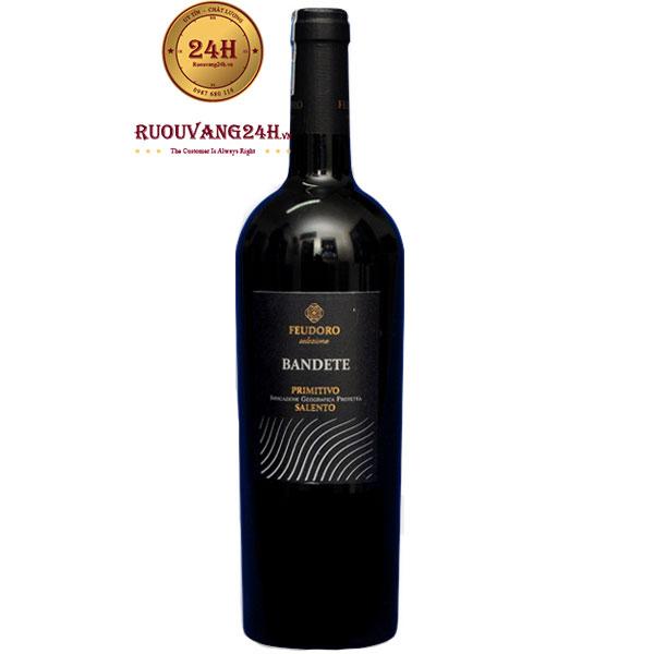 Rượu Vang Bandete Primitivo Salento