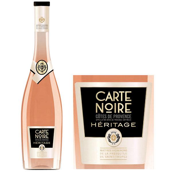Rượu Vang Carte Noire Cotes De Provence Heritage