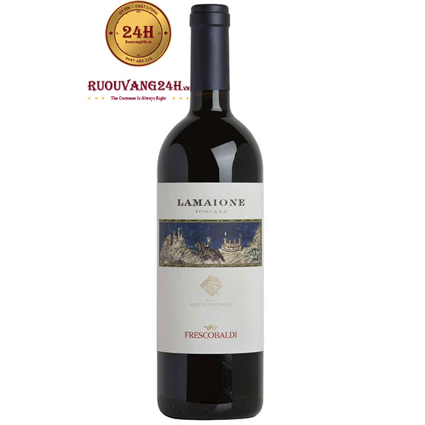 Rượu Vang Frescobaldi Castelgiocondo Lamaione