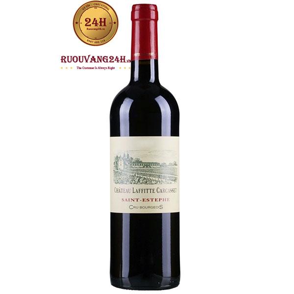 Rượu Vang Château Laffitte Carcasset Cru Bourgeois