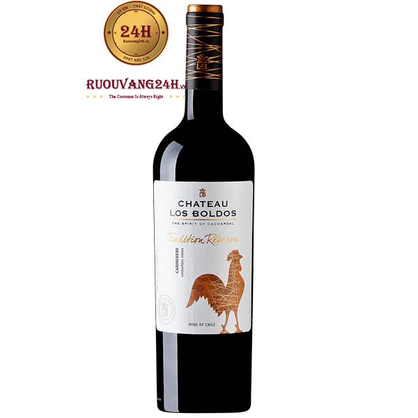 Rượu Vang Château Los Boldos Tradition Reserve Carmenere
