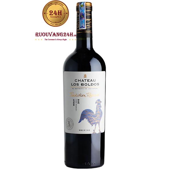 Rượu Vang Château Los Boldos Tradition Reserve Merlot