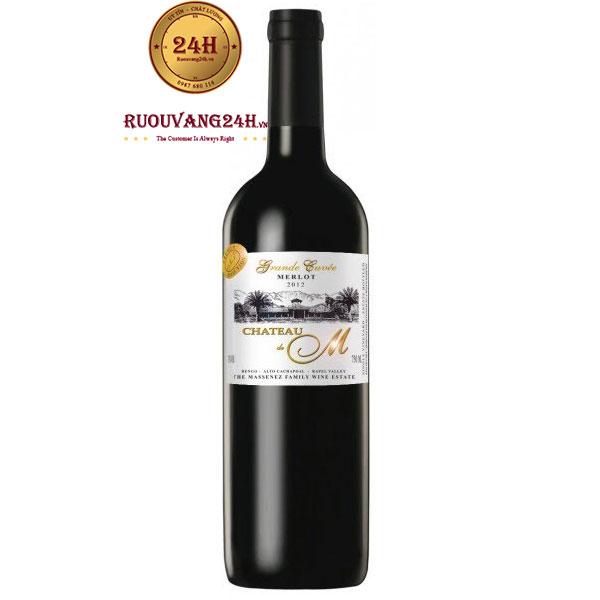 Rượu Vang Château M Gran Reserva Cabernet Sauvignon Merlot
