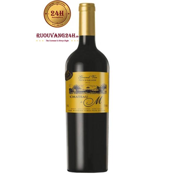 Rượu Vang Château M Grand Vin Gold Label