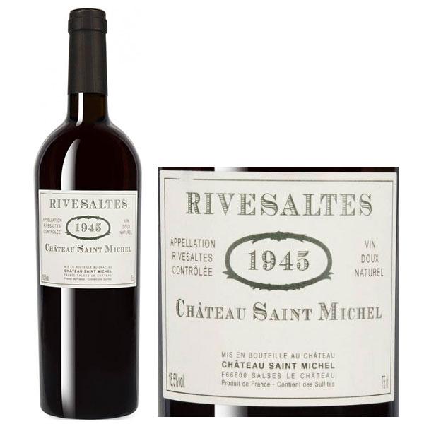 Rượu Vang Château Saint Michel Rivesaltes 1945