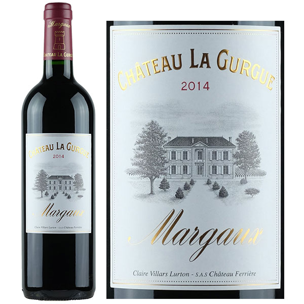 Rượu Vang Chateau La Gurgue Margaux
