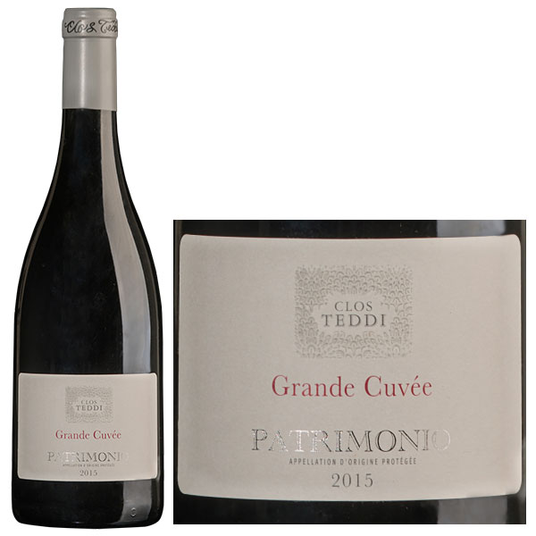 Rượu Vang Clos Teddi Grande Cuvée Patrimonio
