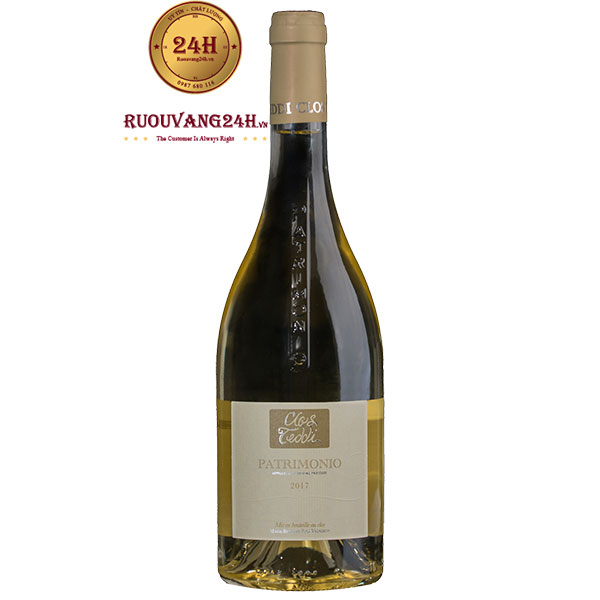 Rượu Vang Clos Teddi Tradition Patrimonio White