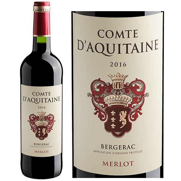 Rượu Vang Comte D'Aquitaine Bergerac Merlot