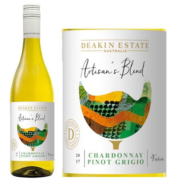 Rượu Vang Deakin Estate Artisan's Blend Chardonnay - Pinot Grigio
