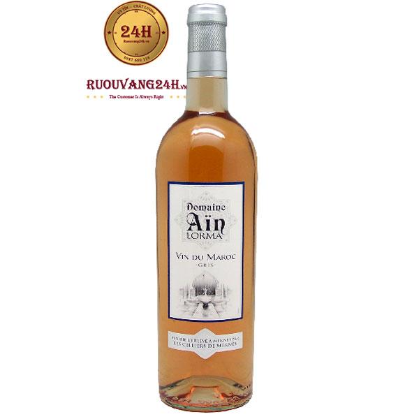 Rượu Vang Domaine Ain Lorma Rose