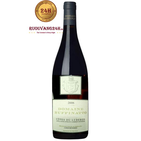 Rượu Vang Domaine Ruffinatto Les Menines Luberon