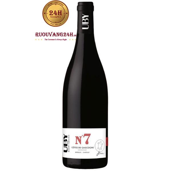 Rượu Vang Domaine UBY No 7 Côtes De Gascogne