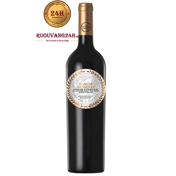 Rượu Vang Donum Massenez Premium Assemblage Rouge