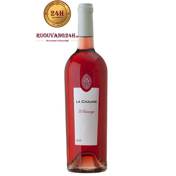 Rượu Vang La Chaume Le Caravage Rose
