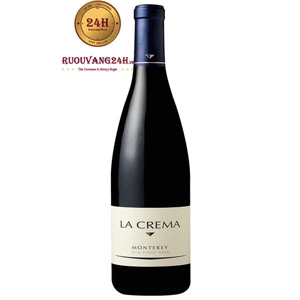 Rượu Vang La Crema Monterey Pinot Noir