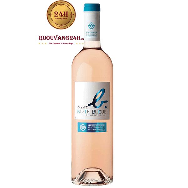 Rượu Vang La Petite Note Bleue Rose