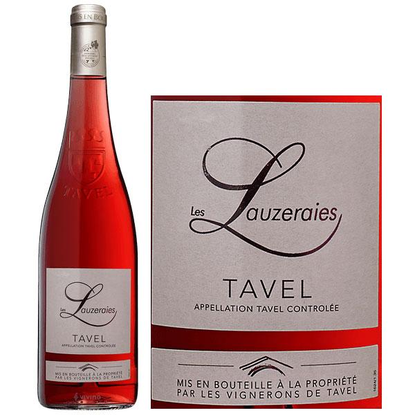 Rượu Vang Les Vignerons De Tavel Les Lauzeraies Tavel Rose
