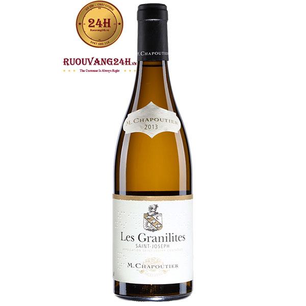 Rượu Vang M.Chapoutier Les Granilites Saint Joseph
